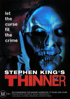 stephen kings thinner 1996 movie poster